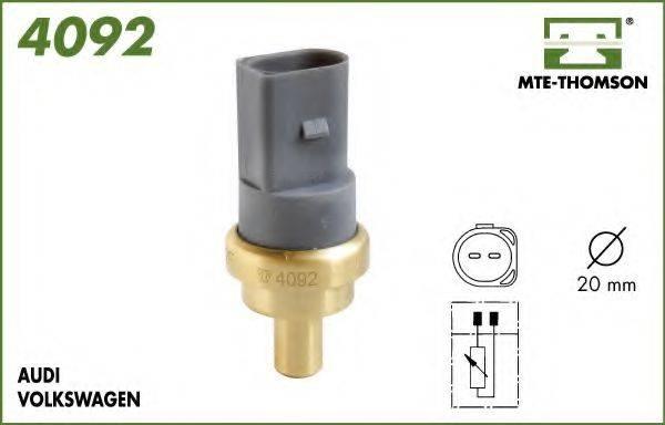 MTE-THOMSON 4092 Датчик, температура охлаждающей жидкости