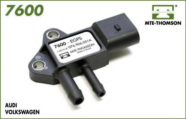 MTE-THOMSON 7600 Датчик, давление выхлопных газов