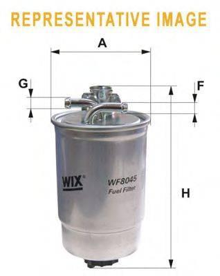WIX FILTERS WF8389 Топливный фильтр