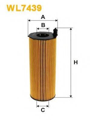 WIX FILTERS WL7439 Масляный фильтр
