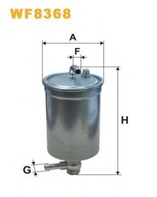 WIX FILTERS WF8368 Топливный фильтр