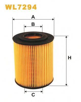 WIX FILTERS WL7294 Масляный фильтр