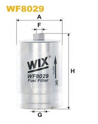 WIX FILTERS WF8029 Топливный фильтр