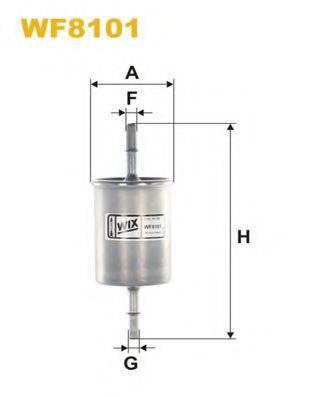 WIX FILTERS WF8101 Топливный фильтр