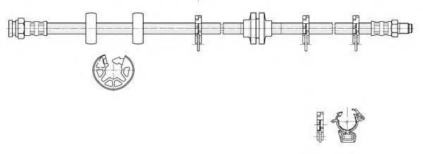CEF 517136 Тормозной шланг