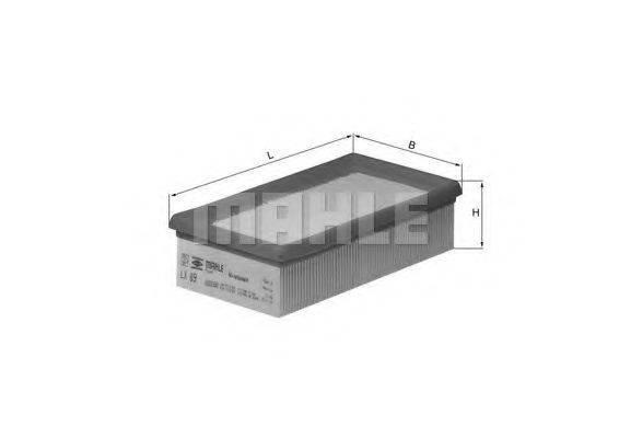 KNECHT LX89 Воздушный фильтр