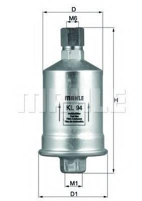 KNECHT KL94 Топливный фильтр