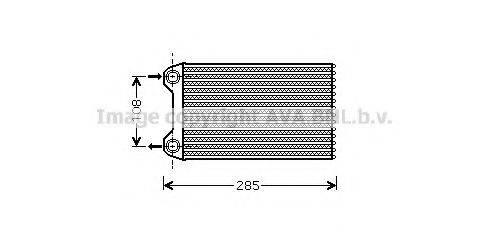 PRASCO AIA6223 Теплообменник, отопление салона