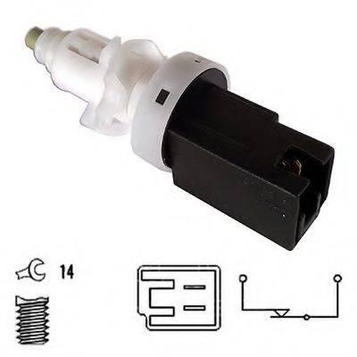 HOFFER 3500020 Выключатель фонаря сигнала торможения