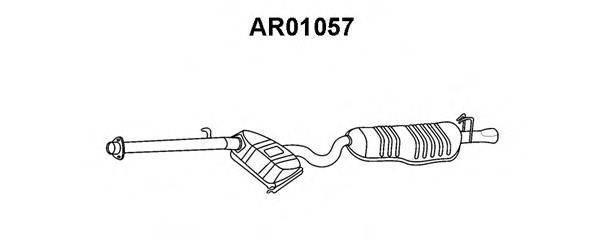 VENEPORTE AR01057 Глушитель выхлопных газов конечный