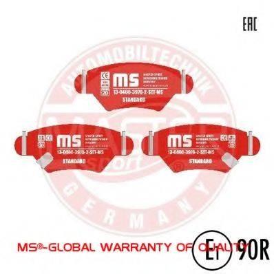 MASTER-SPORT 13046039762SETMS Комплект тормозных колодок, дисковый тормоз