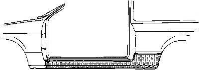 VAN WEZEL 3710101 Накладка порога