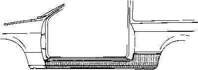 VAN WEZEL 3710102 Накладка порога