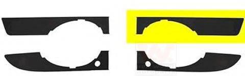AUDI 8E080717301C Рама, противотуманная фара