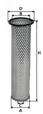 UNIFLUX FILTERS XA2038 Воздушный фильтр