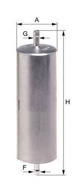 UNIFLUX FILTERS XB62 Топливный фильтр