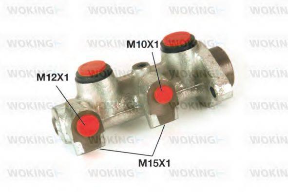WOKING C102021 Главный тормозной цилиндр