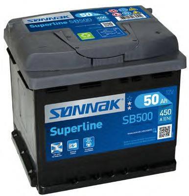 SONNAK SB500 Стартерная аккумуляторная батарея; Стартерная аккумуляторная батарея