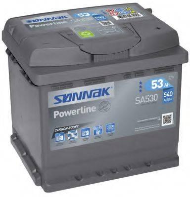 SONNAK SA530 Стартерная аккумуляторная батарея; Стартерная аккумуляторная батарея