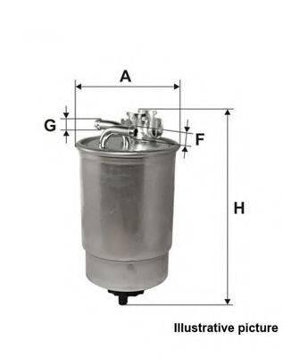OPEN PARTS EFF505020 Топливный фильтр