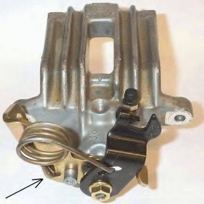 TEXTAR 38048100 Тормозной суппорт