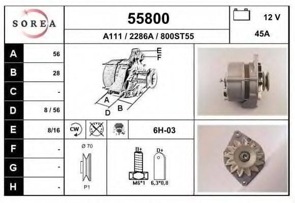 EAI 55800 Генератор
