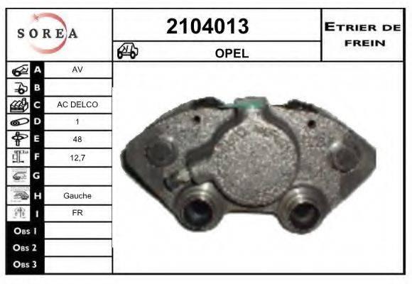 EAI 2104013 Тормозной суппорт