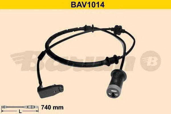 BARUM BAV1014 Сигнализатор, износ тормозных колодок