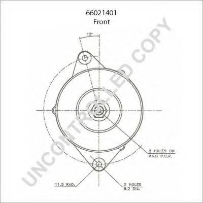 PRESTOLITE ELECTRIC 66021401 Генератор