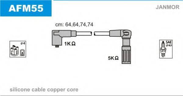 JANMOR AFM55 Комплект проводов зажигания