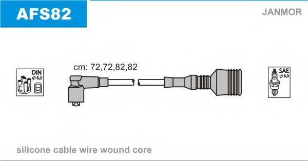 JANMOR AFS82 Комплект проводов зажигания