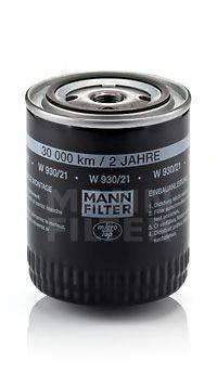 MANN-FILTER W93021 Масляный фильтр