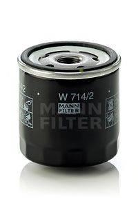 MANN-FILTER W7142 Масляный фильтр