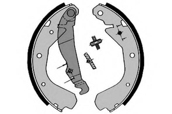 RAICAM 2464 Комплект тормозных колодок