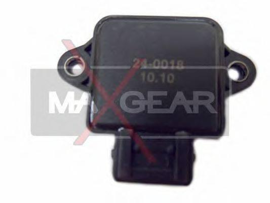 MAXGEAR 240018 Датчик, положение дроссельной заслонки