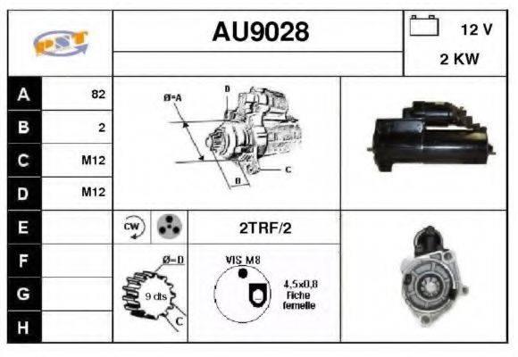 SNRA AU9028 Стартер