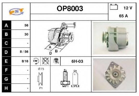 SNRA OP8003 Генератор