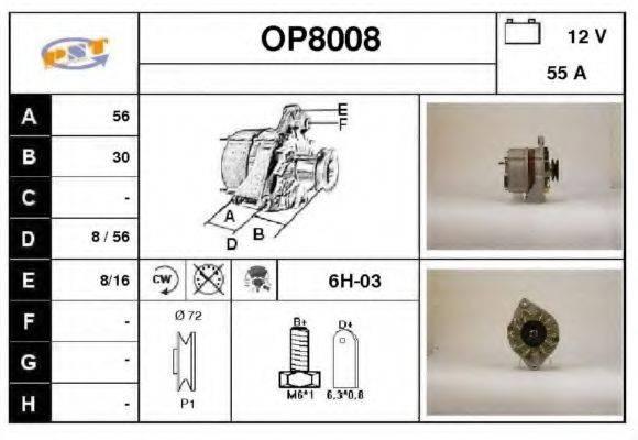 SNRA OP8008 Генератор