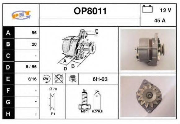 SNRA OP8011 Генератор