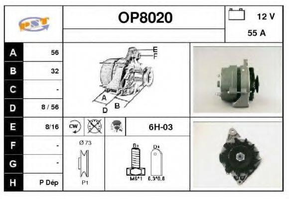 SNRA OP8020 Генератор