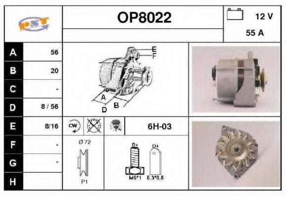 SNRA OP8022 Генератор