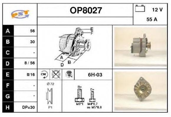 SNRA OP8027 Генератор