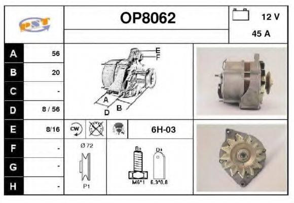 SNRA OP8062 Генератор