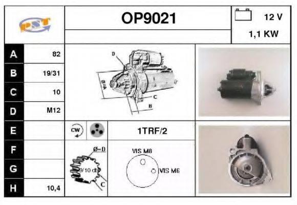 SNRA OP9021 Стартер