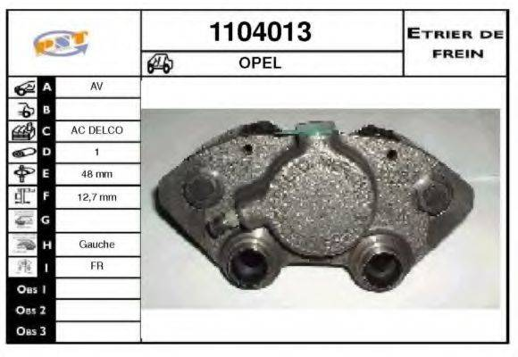 SNRA 1104013 Тормозной суппорт