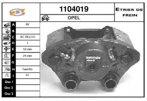 SNRA 1104019 Тормозной суппорт