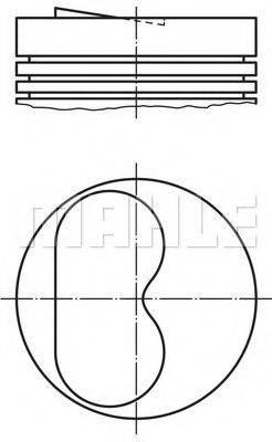 PERFECT CIRCLE 56020880 Поршень