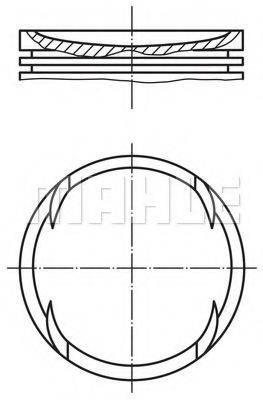 PERFECT CIRCLE 56014280 Поршень