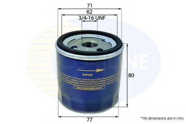 COMLINE EOF022 Масляный фильтр