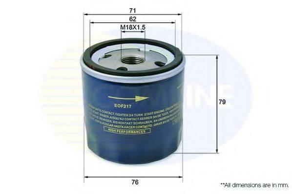 COMLINE EOF217 Масляный фильтр